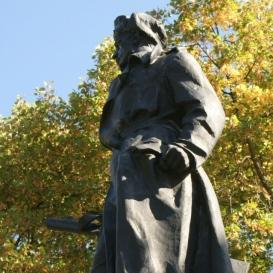 Ján Nálepka kapitány szobra