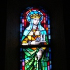 Szent Mihály-székesegyház mellékhajóinak üvegablakai