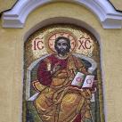 A görög katolikus templomot díszítő mozaikok
