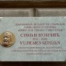 Vujicsics Sztoján-emléktábla