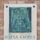 Dózsa György-emléktábla