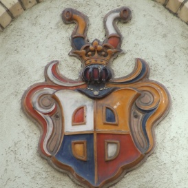 A Lechner-lakóház címere