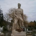 Vámossy Tibor síremléke
