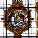A Máriabesnyői Kegytemplom üvegablakai