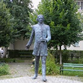Aranka György szobra