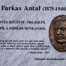 Farkas Antal-emléktábla