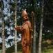 Szent Miklós szobra