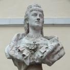 Erzsébet királyné-mellszobor