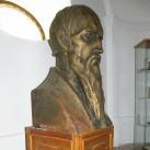Kálvin János-mellszobor