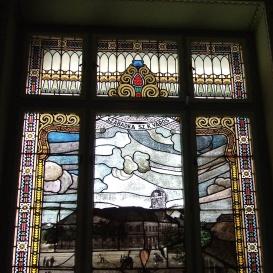 A szabadkai városháza üvegablakai