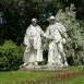 Deák Ferenc és Mészáros Lázár szobra