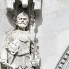 Országház - nyugati homlokzat: Árpád nagyfejedelem