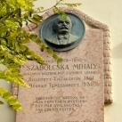 Szabolcska Mihály-emléktábla