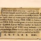 Műemlék tábla VII.