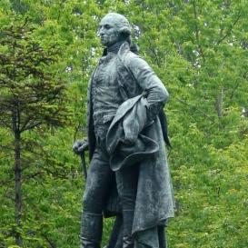George Washington szobra