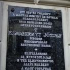 Emléktábla Mindszenty Józsefnek