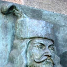 II. Rákóczi Ferenc domborműve