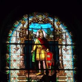 Szentek üvegfestményei