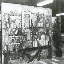 Pest és Buda egyesítése-mozaik