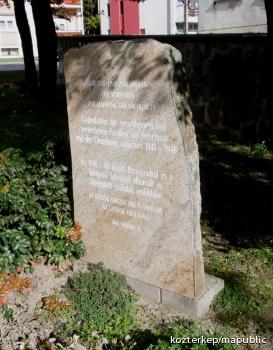 Kitelepítettek emlékköve