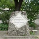 Sárkány József-emlékkő