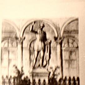Katona József szobra