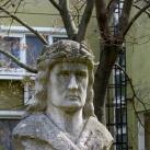 Mátyás király mellszobra