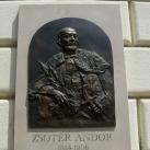 Zsótér Andor-emléktábla