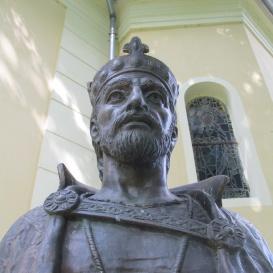 Szent István-mellszobor