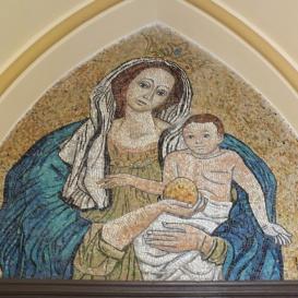 Egek királynéja mozaik