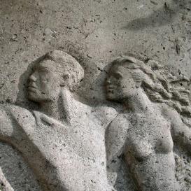 Gregersen Hugó és Lux Alice síremléke