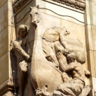 A Magyar Nemzeti Bank domborművei  – Kereskedelem