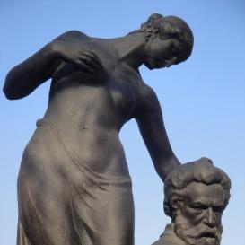Lotz Károly síremléke