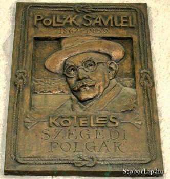 Pollák Sámuel-emléktábla