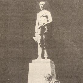 Horthy István emlékműve