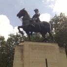 VII. Edvárd lovasszobra