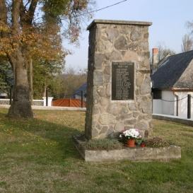 II. világháborúban elesettek emlékére