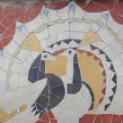 Mozaik állatfigurák III.