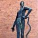 Kígyóölő-szobor