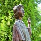 Szent Lőrinc szobra