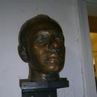 Kovács Pál olimpiai bajnok  vívó fejszobra