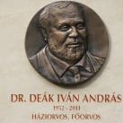 Dr. Deák Iván András  emléktáblája