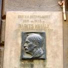 Babits Mihály domborműves emléktábla