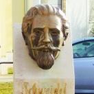 Schweidel József fejszobra