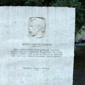 Akseli Gallén Kallela-emlékmű