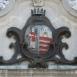 Győr címere a Városházán