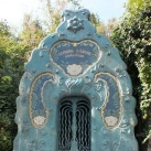 A Schmidl-síremlék külső díszítése