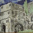 Bányász – erdész – gépész – kohász mozaik