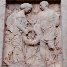 A Fortuna u. 4. sz. alatti udvarban kivégzettek emléktáblája