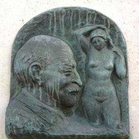 Medgyessy Ferenc domborműves emléktábla